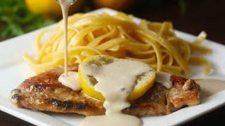 Creamy Lemon Chicken by Tasty