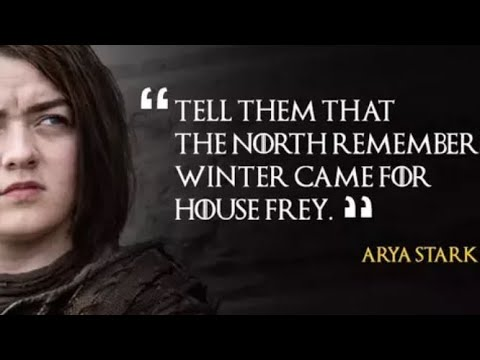 Game Of Thrones Season 1-7 Best Quotes/lines Most Famous Quotes