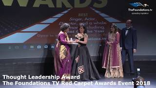 Annette Philip wins The Foundations TV Thought Leadership Award