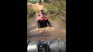 5. Madison 90cc can am bombardier mid size water crossing