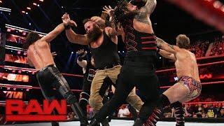 Nonton Reigns Vs  Rollins Vs  Owens Vs  Strowman Vs  Jericho     Fatal 5 Way Match  Raw  Nov  7  2016 Film Subtitle Indonesia Streaming Movie Download
