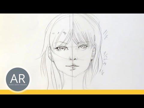 Zeichnen lernen, Akadmie Ruhr, Tutorials, Portrait Zeichnen – Als manga oder realistische Zeichnung