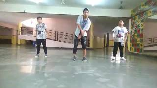 Dance steps Main Tera boyfriend Choreography by just dance with  2017