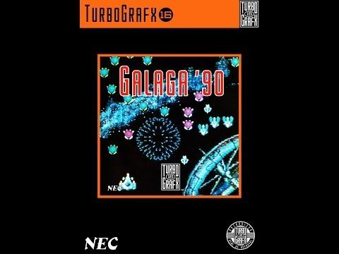 Galaga '90 PC Engine