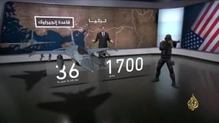 الوجود العسكري الروسي والأميركي في منطقة الشرق الأوسط