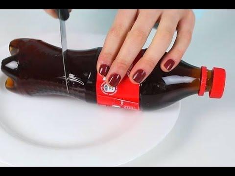 come fare una bottiglia di coca cola gelatinosa - ricetta