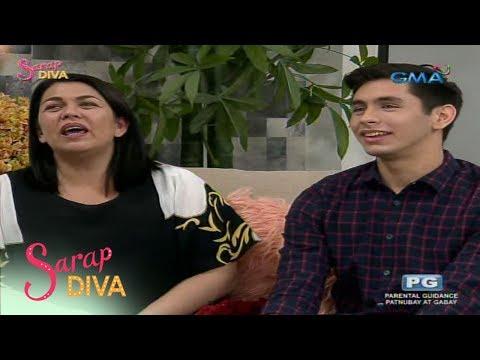 Sarap Diva: Lotlot de Leon tries out the 'Ma, Sino Ako?' challenge (видео)