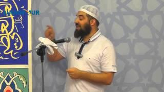 Iftar në Xhaminë e Haxhi Ibrahim Devolli në Pejë - Hoxhë Enes Goga - Ramazan 1435 _ 2014