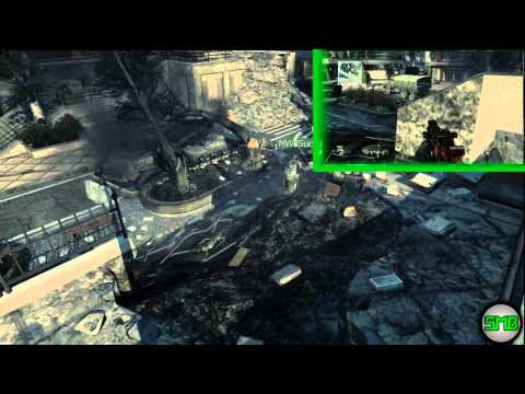 MW3 Infected / Online Best Hiding Spots - Arkaden