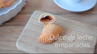 Dulce de leche empanadas