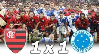 Flamengo 1 x 1 Cruzeiro * Brasileiro 2013 * Melhores Momentos