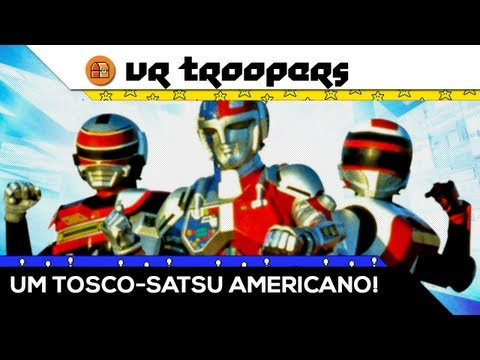 VR Troopers (MEGA DRIVE): Um Tosco-Satsu Americano! [Baú Old Gamer]