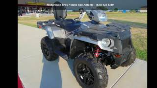 10. 2018 Polaris® Sportsman® Touring 570 SP Turbo Silver