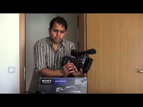 Sony HDR-AX2000E Camera Explanation (தமிழில்/Tamil)
