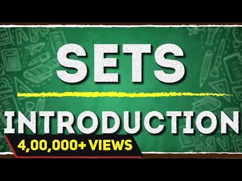 Introduction to Sets for Roster Method & Set Builder Form | Algebra |  Math | Letstute