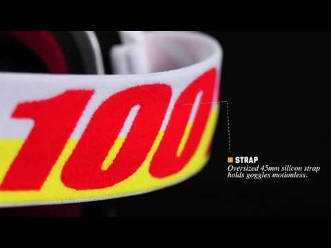 100% Maschera modello The Accuri - Goggle model The Accuri