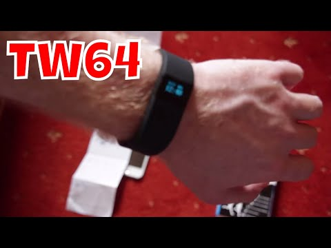 Unboxing & Review of TW64 Bluetooth Smart Wristband Health Tracker Watch - Subscribe!