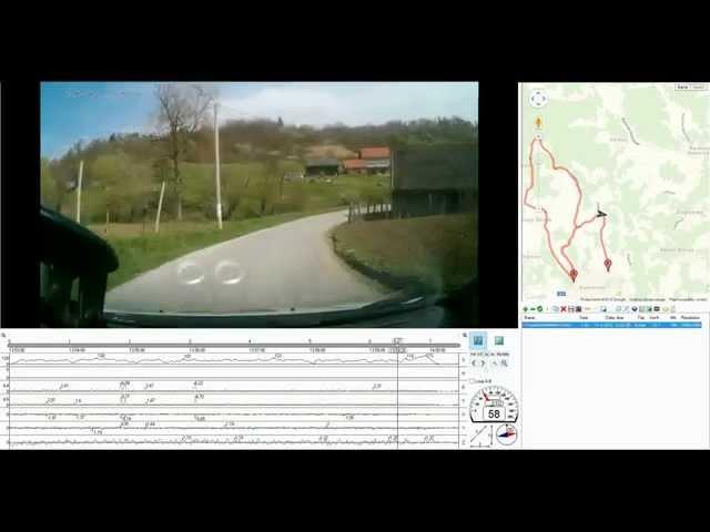 4. Rally Kumrovec 2015. | Mateša-Harapin 173kmh | Autokamera.hr