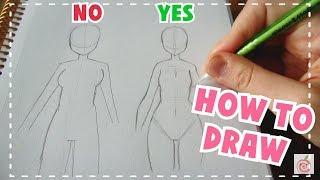 ☆ HOW TO DRAW || Female Body Tutorial ☆