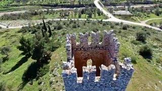 Με drone στο κάστρο των θρύλων στην Εύβοια