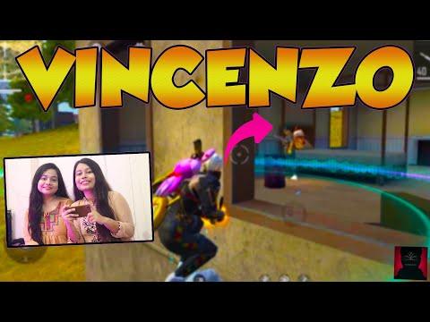 Reacting On OP VINCENZO's Best Free Fire Gameplay - SissoTube