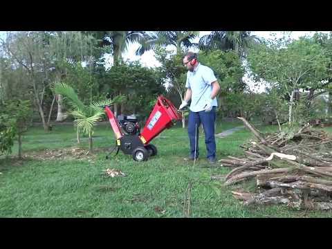 Triturador de Galhos e Pequenos Arbustos Bio100
