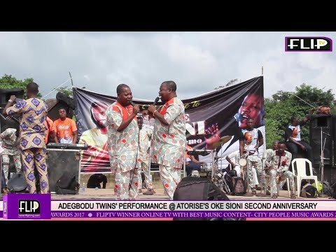 ADEGBODU TWINS' PERFORMANCE @ ATORISE'S OKE SIONI SECOND ANNIVERSARY