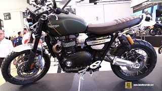 7. 2019 Triumph Scrambler 1200 XC - Walkaround - Debut at 2018 EICMA Milan