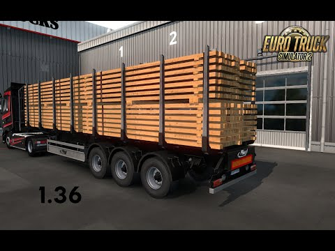 Ownable log trailer Fliegl v1.0.2