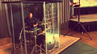 Playing Drums at Church for the First Time!