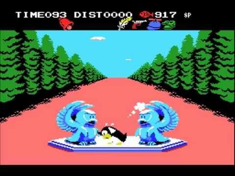 Penguin Adventure (1986, MSX, Konami)