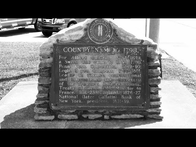 How  Did  Gallatin  County,  Kentucky  Get  Its  Name?