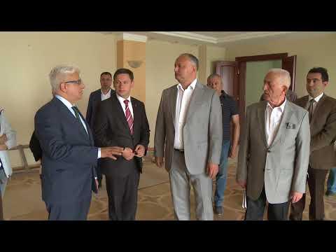 Șeful statului a verificat cum sunt efectuate lucrările de reparație a sediului Președinției Republicii Moldova