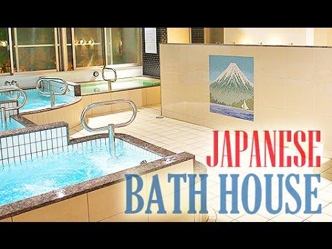 Visiting a Japanese Bath House (Sento)Saito-yu Nippori日暮里 斉藤湯で気持ちの良いひととき (видео)