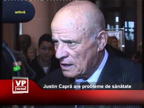 Justin Capră are probleme de sănătate
