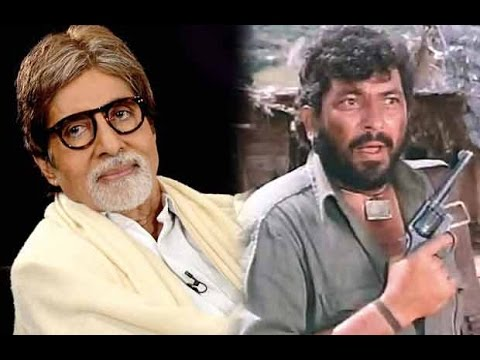 Amitabh Bachchan Wanted To Play The Role Of Gabbar
