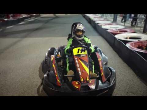 شيماء سيف تخسر سباق سيارات في إسبانيا