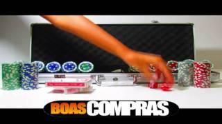 Kit De Poker - Maleta 500 Fichas Numeradas De Poker - PESO OFICIAL 11,5g - BOASCOMPRAS