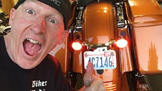 """These are the Ciro 3D Fang LED Signal, Taillight, & Brake Light Inserts for Harley-Davidson. They are super bright and provide additional white light to the front. When you turn the signals on they turn to amber. On the rear, they are white until you turn the ignition on and they turn to red. Hit your rear signals and get the red signal light. These are way brighter than the stock Harley halogen brake lights and signals. THEY COME IN BLACK OR CHROMEThese are plug and play and have a great """"fang"""" look as the tops protrude out a bit. You won't be disappointed with this super high quality and stylish LED signal and brake light replacements for your Harley. And you know they are high quality as they are from Ciro 3D.After install, hit your hazard lights for a bit to sync your dash panel signal light indicator, so it flashes at the same rate. Thanks to the community for shouting this out in the live broadcast. GET CIRO 3D FANG LED SIGNAL INSERT LIGHTS IN OUR STORE HERE: https://shop.lawabidingbiker.com/collections/lighting-1/products/ciro-3d-fang-led-signal-light-insertsGET THE CIRO 3D VISION X LED HEADLIGHT IN OUR STORE: https://shop.lawabidingbiker.com/collections/lighting-1/products/ciro-3d-vision-x-led-lightingCHECK OUT OUR TOP 3 LED HEADLIGHT COMPARISON & VISION X HEADLIGHT INSTALL VIDEO: https://youtu.be/BgJbOGxh9_A?list=PL4h75QClVvqPgMQV7VAyPxoPCzoceb3qZ****MY 8.5"""" KLOCKWERKS FLARE WINDSHIELD TINTED-REVZILLA AFFILIATE LINK: http://bit.ly/2dJBdk0BECOME A PATRON MEMBER AND GET BENEFITS: https://www.patreon.com/scrappyCHECK OUT OUR AWESOME FOR PURCHASE MOTORCYCLE TUTORIAL VIDEOS: http://www.lawabidingbiker.com/buyvideosGET VANCE & HINES EXHAUST AND THE FUELPAK 3 EFI TUNER IN OUR STORE: https://shop.lawabidingbiker.com/collections/air-fuel-exhaustCHECK OUT OUR FREE VANCE & HINES FUELPAK 3 TUTORIAL VIDEO: https://www.lawabidingbiker.com/fuelpak3OUR OFFICIAL WEBSITE: http://www.lawabidingbiker.com"""