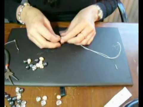 www.joyanet.com - Como hacer un Collar o Pulsera de Perlas enfilado con hilo de Seda y Cierre