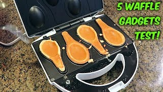 5 Waffle Maker That Will Blow your Mind!