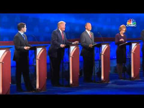 Republicanos se insultan en debate