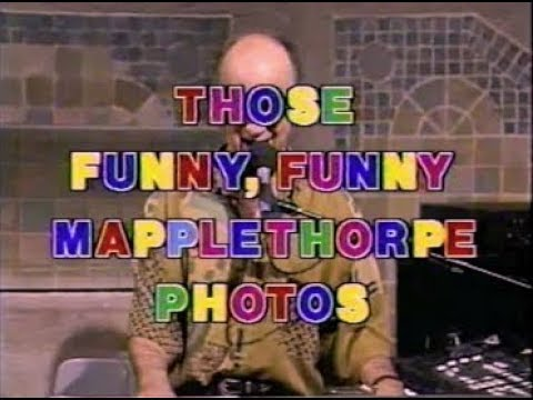 Those Funny, Funny Mapplethorpe Photos Collection on Letterman, 1990-91