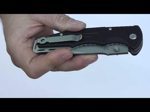 Відеоогляд ножа Ganzo G713