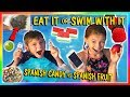 Eat It Or Swim With It Candy Vs Fruit We Are The Davise