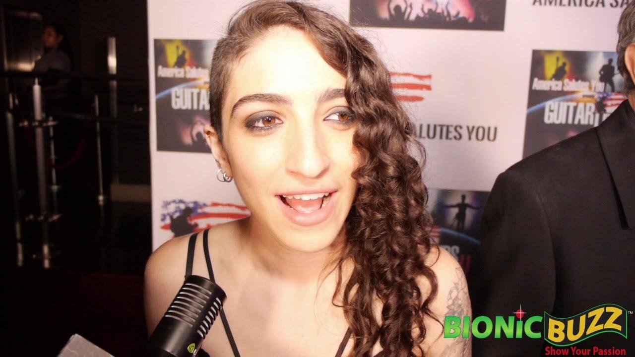 Emily Estefan Interview at America Salutes You presents Guitar Legends II