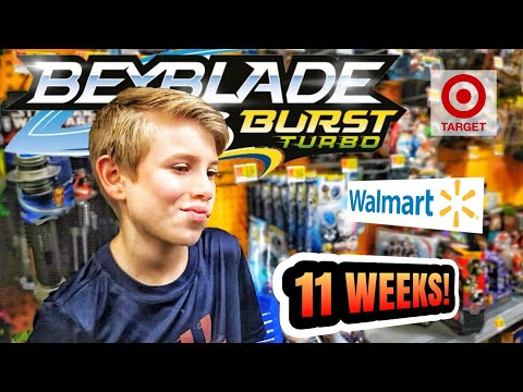 11 Weeks! Beyblade Burst Toy Hunt At Target & Walmart For Hasbro Wave 6 Switchstrike Beys - Beyhunt