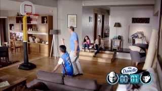 Danette Reklamı - Baba Oğul Salonda Basketbol Maçı