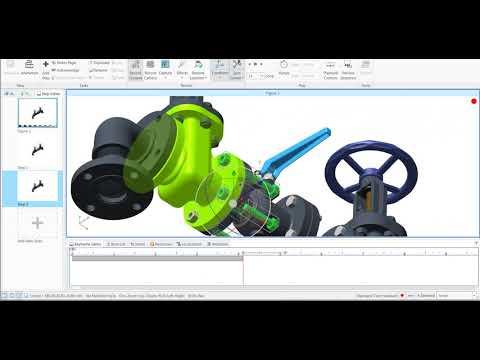 AR, Creo Illustrate Sequence Animation Create, Vuforia Studio, Thingworx Studio animation,