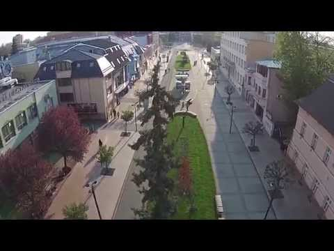 Michalovčan natočil úžasné video nad mestom